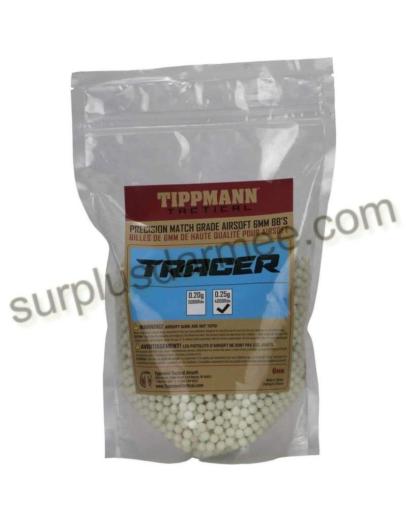 TIPPMANN Billes Traçantes Sac 4000 (BBs) 0.25g 6mm Tippmann
