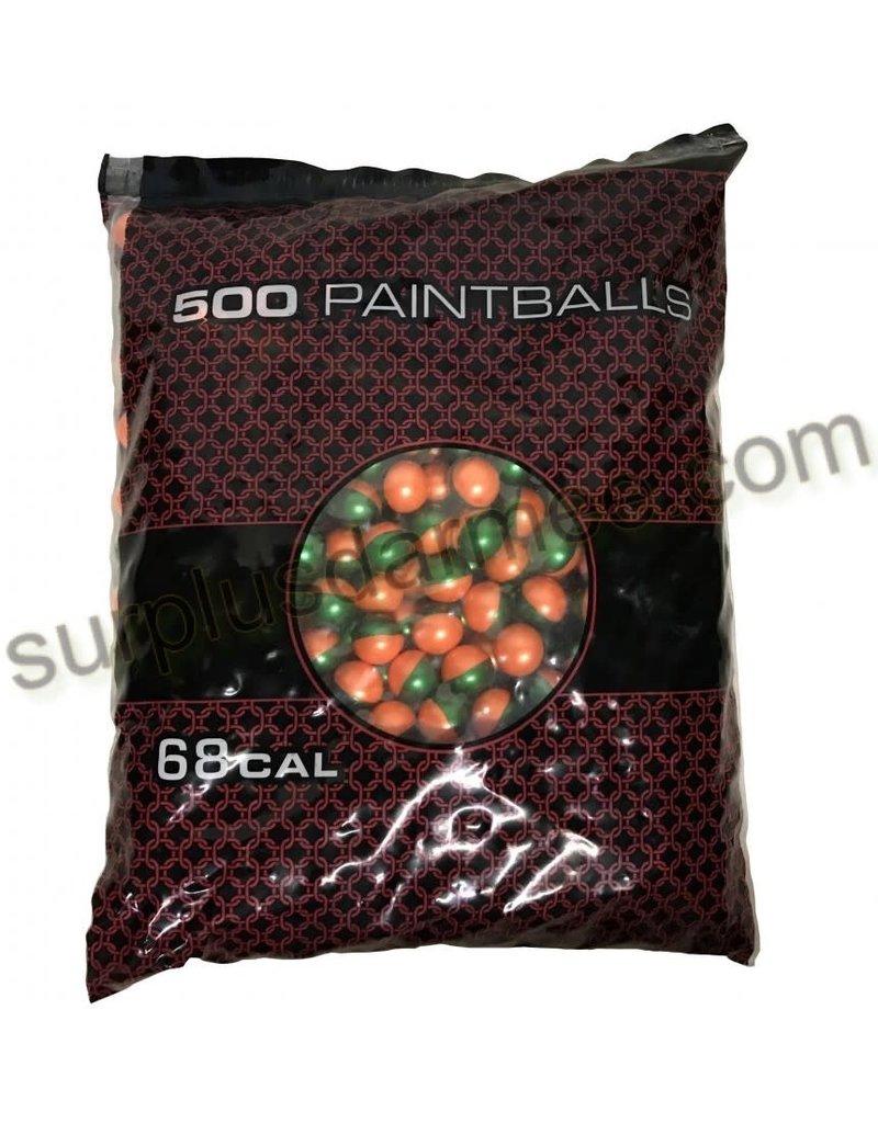 GI SPORTZ Bags Of 500 3 Stars balls Paintball G.I Sportz
