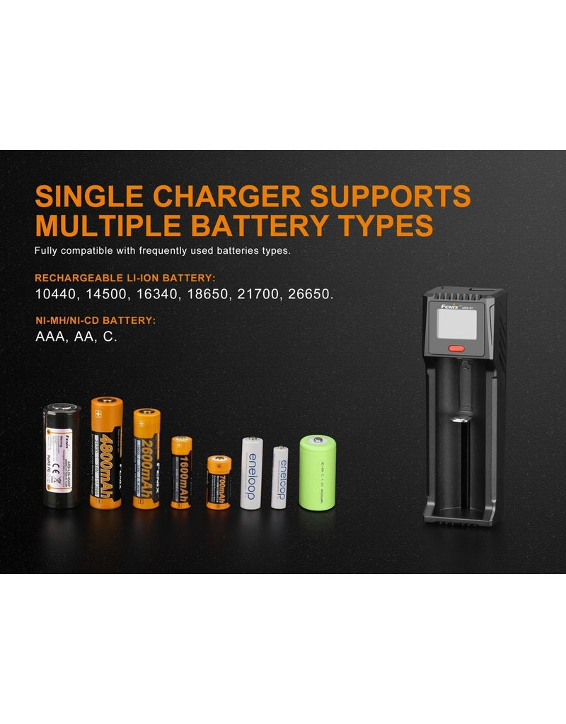 FENIX Chargeur de batterie Simple Multiple ARE-D1Fenix
