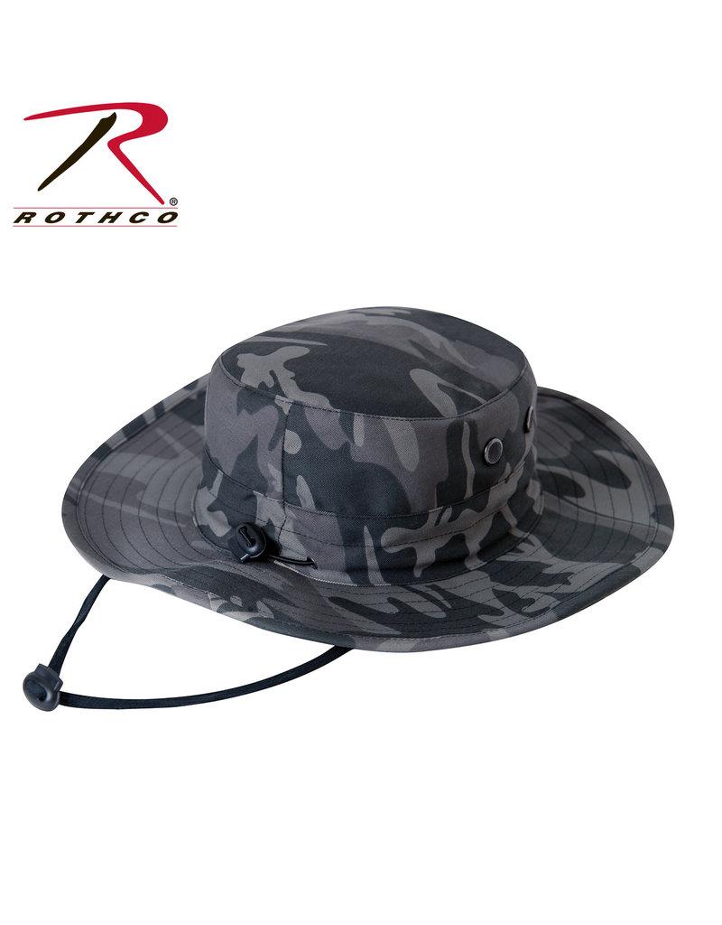 ROTHCO Boonie Hat Rothco Black Camo Hat