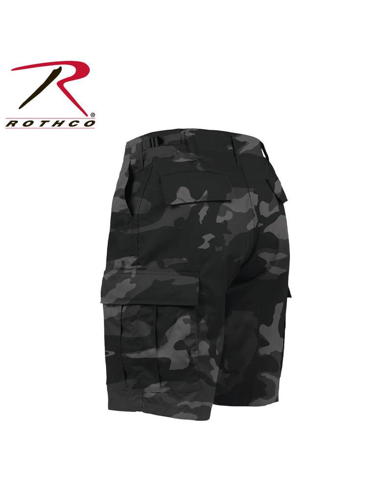 ROTHCO Bermuda Style Militaire Camo Noir Rothco