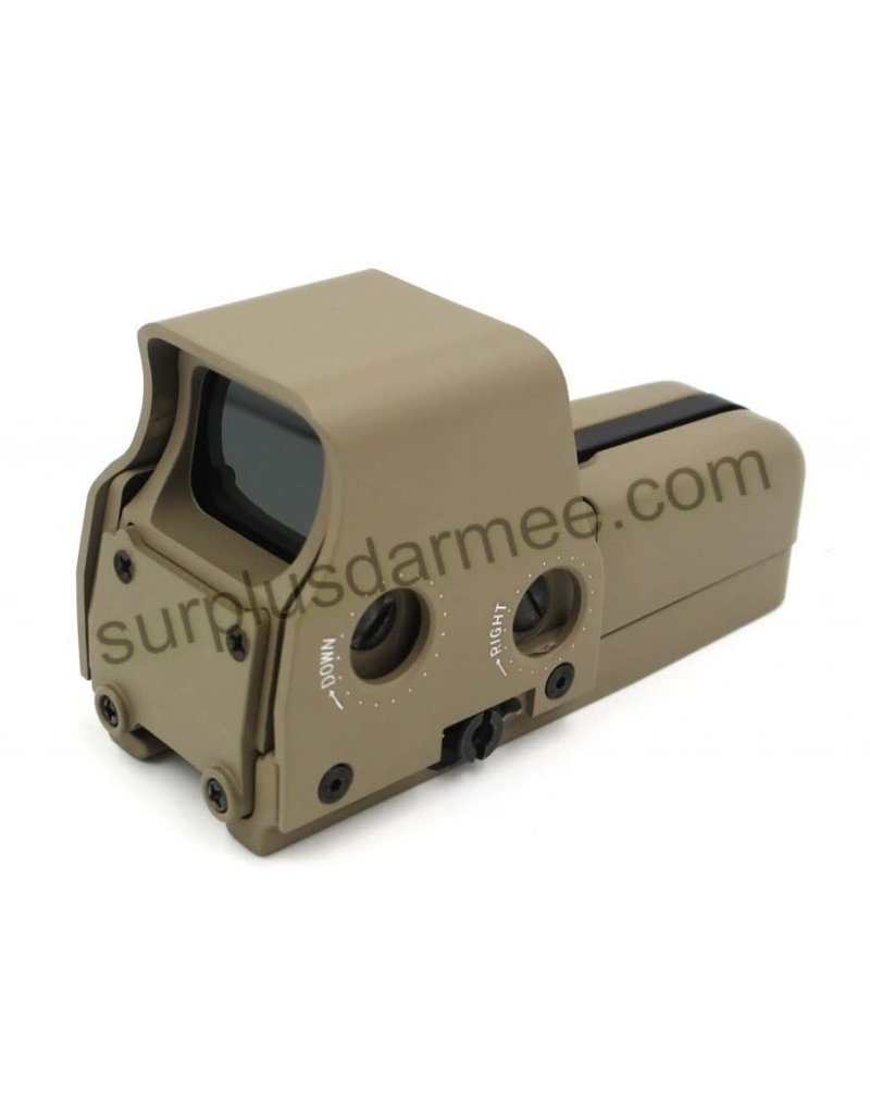 MILCOT Holographic 557 Airsoft Red Dot Sight Red Green Tan / Black