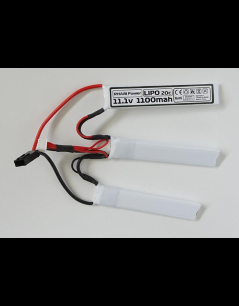 RHAM POWER Batterie Lipo 11.1 Triple Airsoft Rham Power