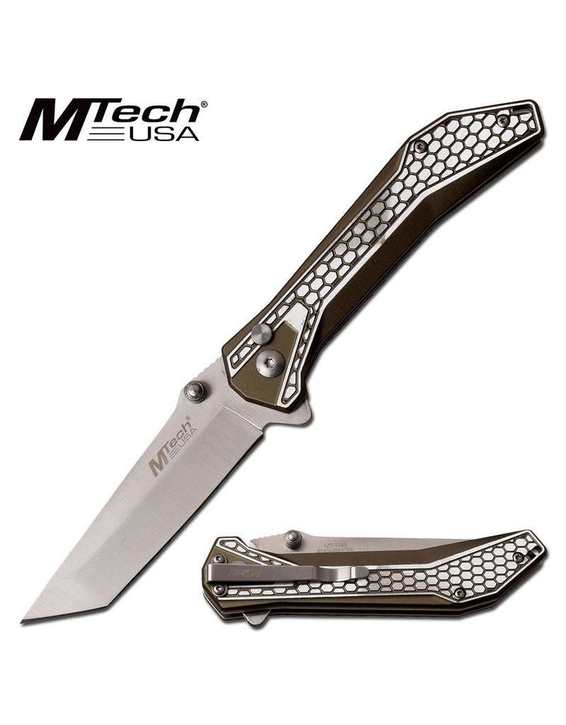 M-TECH Couteau Pliant Tanto Olive M-Tech