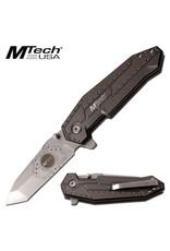 M-TECH Folding Knife Tanto Brown M-Tech