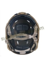 KILLHOUSE Tactical Airsoft Paintball Fast Base Jump Adjustable Helmet Black