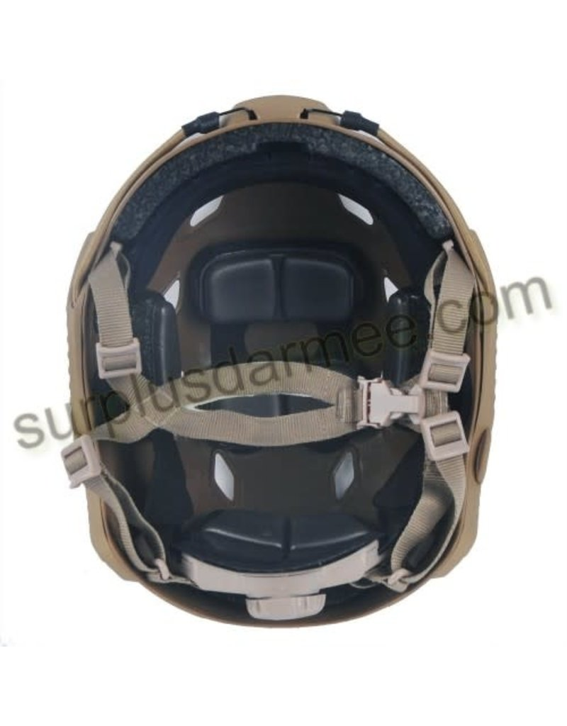 KILLHOUSE Tactical Airsoft Paintball Fast Base Jump Adjustable Helmet Tan