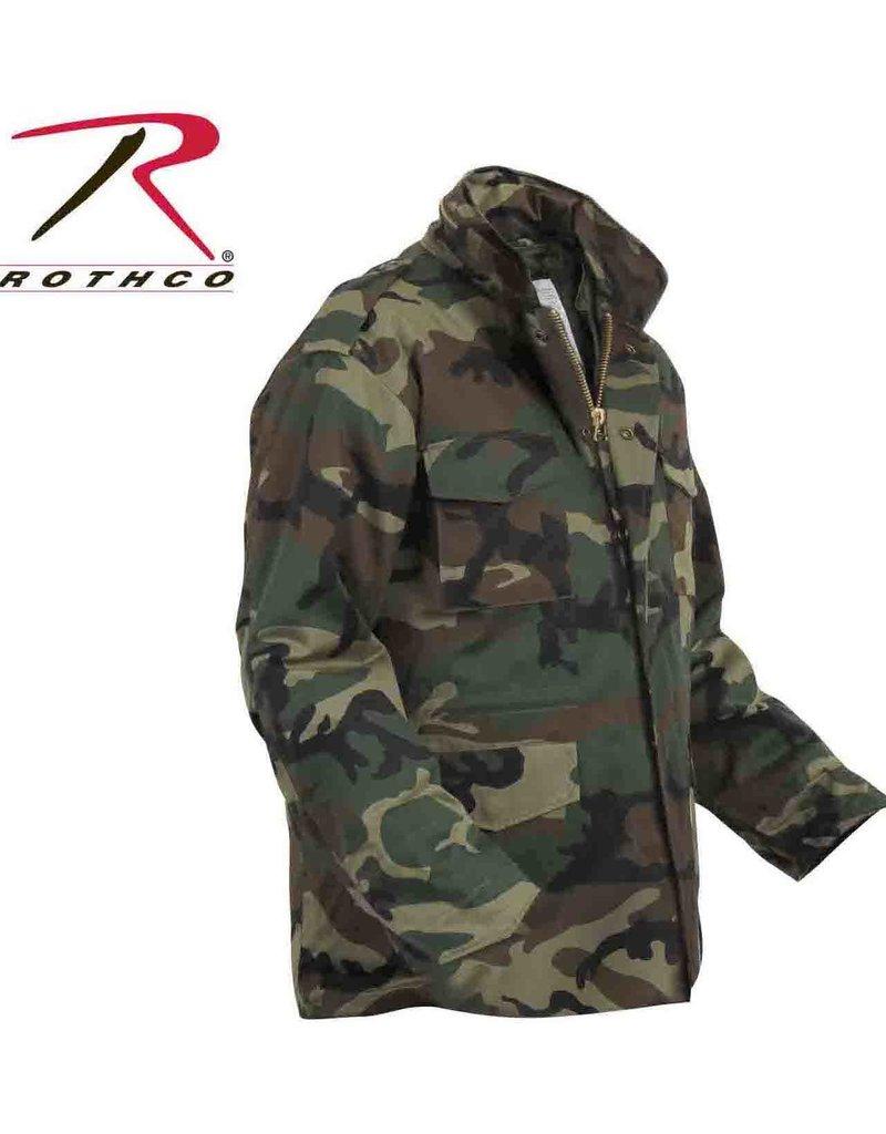 ROTHCO Rothco Lined Woodland M-65 Camo Coat