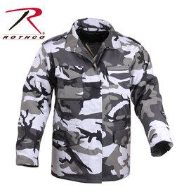 ROTHCO Manteau Style Militaire Camo Urbain M-65 Doublé Rothco