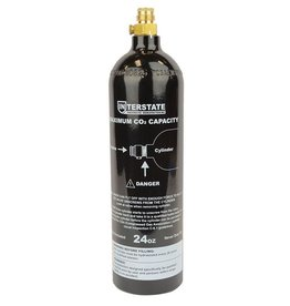 MILCOT Bouteille D'Air Paintball CO2 24 OZ Interstate