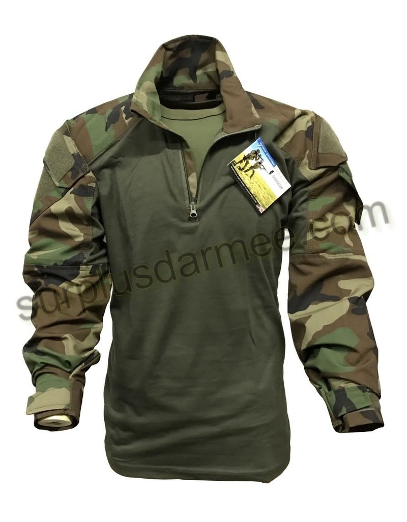 SHADOW ELITE Shadow Elite Woodland Combat Sweater