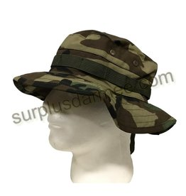 SHADOW ELITE Boonie Hat Military Style Camo Woodland Shadow