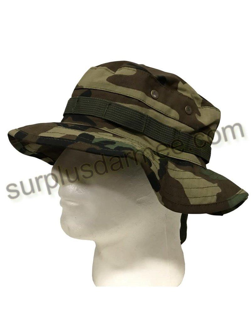 SHADOW ELITE Boonie Hat Military Style Camo Woodland Shadow