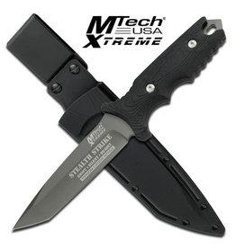 M-TECH Couteau Lame Fixe Tactical Style Militaire M-Tech