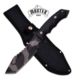 M-TECH Master U.S.A Urban Camo Fixed Blade Tactical Knife