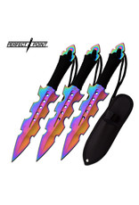 PERFECT-POINT Perfect Point Multicolour Throwing Knife 3X