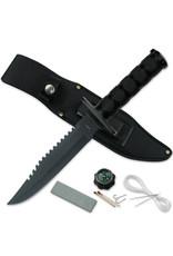 SURVIVOR Fixed Blade Tactical Knife Survival Kit Survivor
