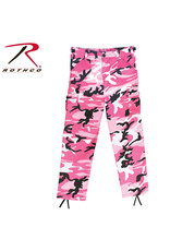 ROTHCO Kids Camouflage Military Style Trousers Pink