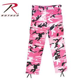 ROTHCO Pantalon Enfant Style Militaire Camouflage Rose