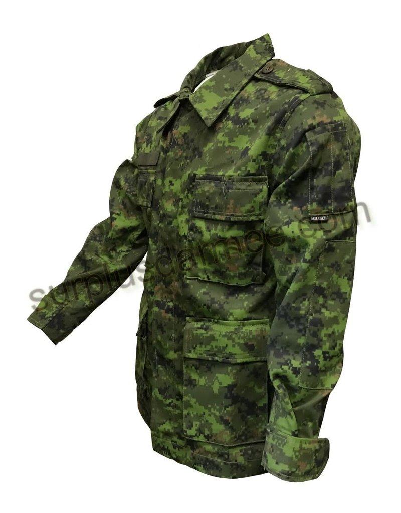 MILCOT Chemise Camo Cadpat Digital Canadien Combat Milcot