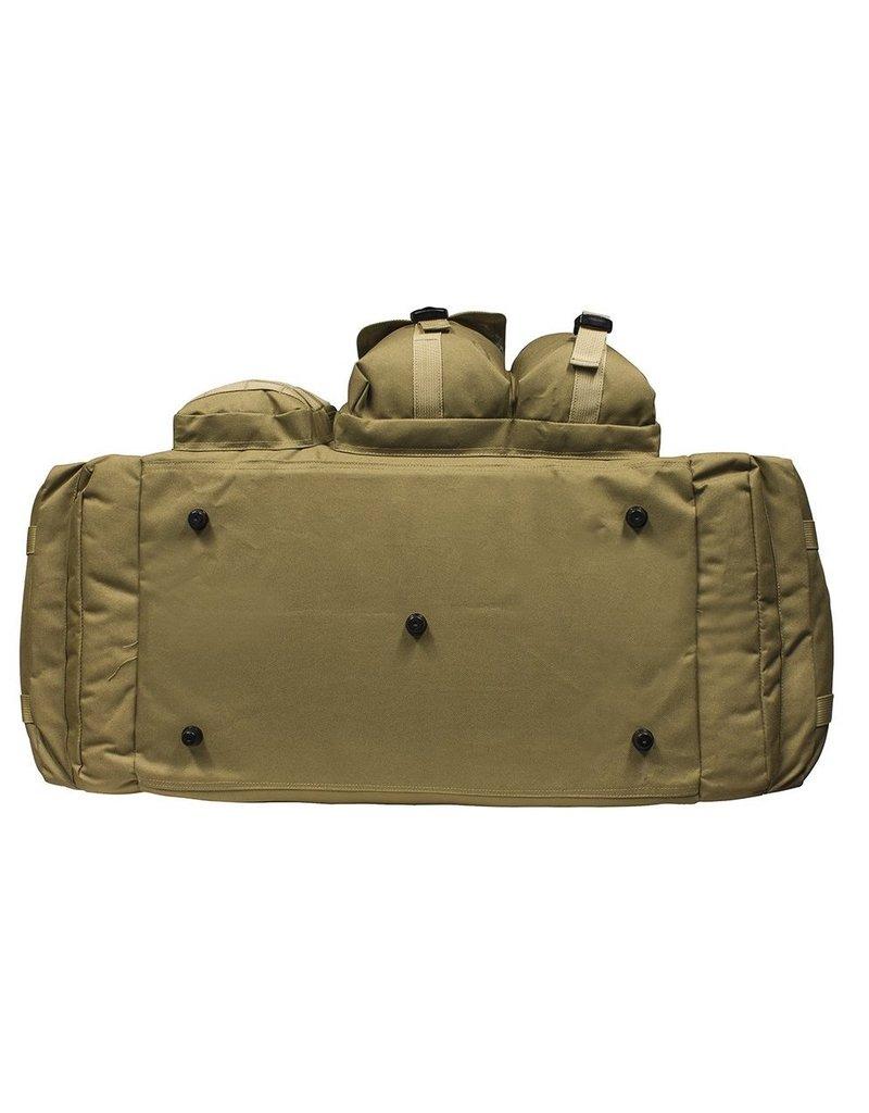 MIL SPEX Duffle Bag Milspex Multi Pocket Shoulder Strap Black
