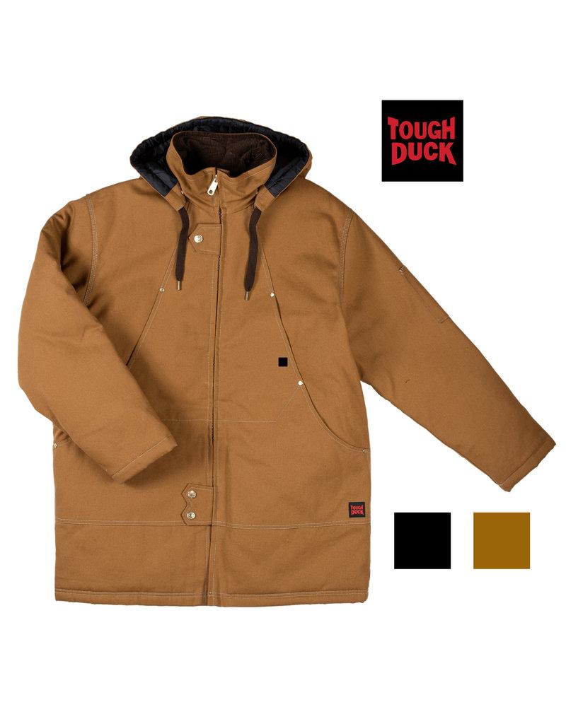 TOUGH-DUCK Manteau Hiver de Travail Doublé en Coton 12 oz Tough Duck