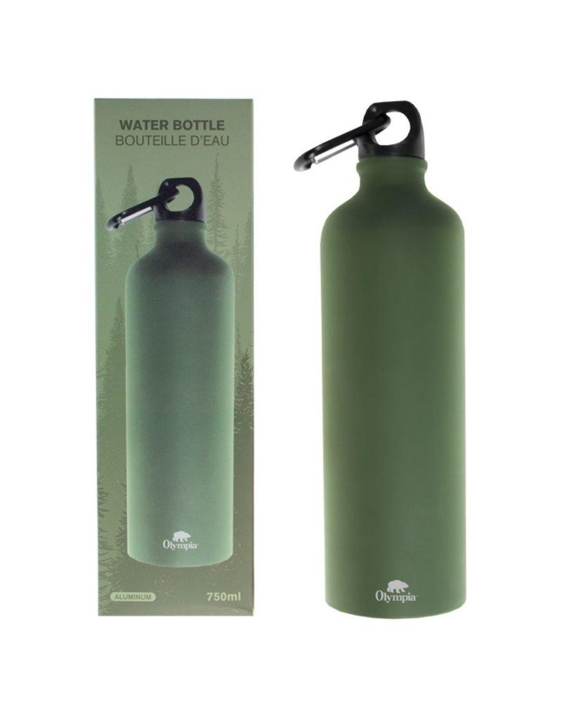OLYMPIA Bottle Aluminum Carabiner 750ML Olympia Olive