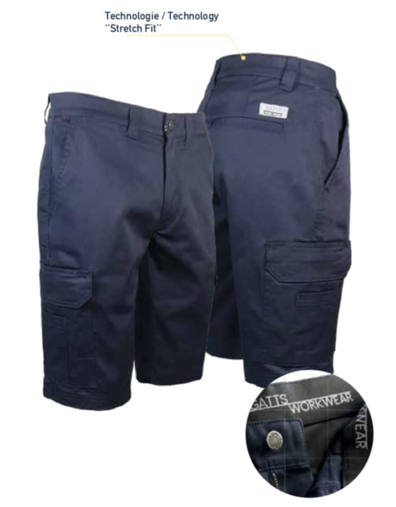 GATTS Gatts Extensible Cargo Bermuda Shorts