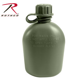 ROTHCO Canteen G.I 1/4 Military Olive U.S.A Rothco
