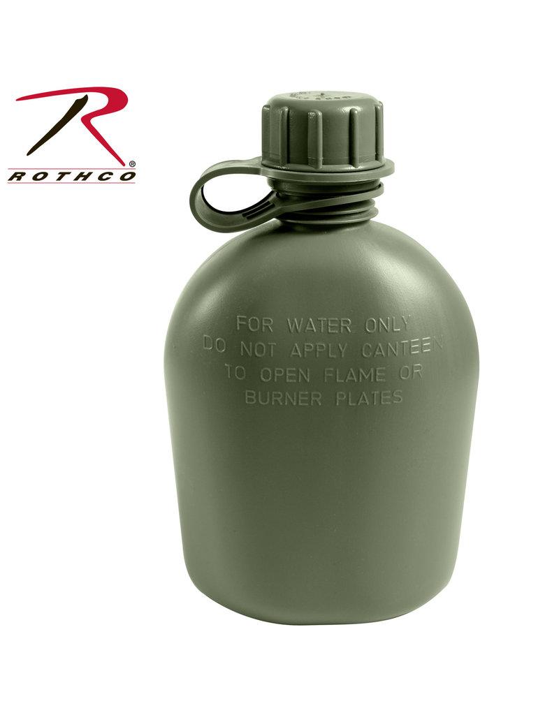 ROTHCO Gourde G.I 1/4 Militaire Olive U.S.A Rothco