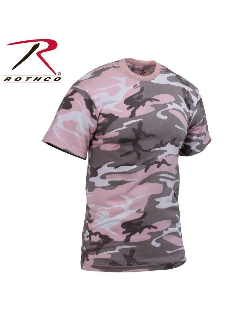 ROTHCO Chandail T-Shirt Camo Vintage Rose Rothco