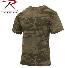 ROTHCO Chandail T-Shirt Camouflage Coyote Vintage Rothco
