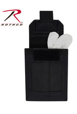 ROTHCO Rothco Black Latex Glove Molle Pouch