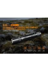 FENIX Tactical Flashlight E20 V2.0 350 Lumens Fenix
