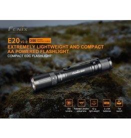 FENIX Lampe de Poche Tactique 350 Lumens E-20 V2.0 Fenix
