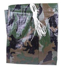 STINSON Toile Bâche de Dépannage 6x8 Camouflage Stinson