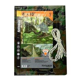 STINSON CANVAS COVER 8X10 CAMOUFLAGE STINSON