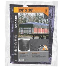 STINSON Toile Robuste 20X30 Noir STINSON