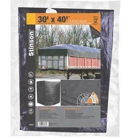 STINSON TOILE ROBUSTE 30X40 MULTI-USAGE NOIR STINSON