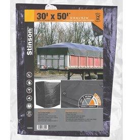 STINSON Toile de Robuste Multi-Usage 30X50 Noir STINSON