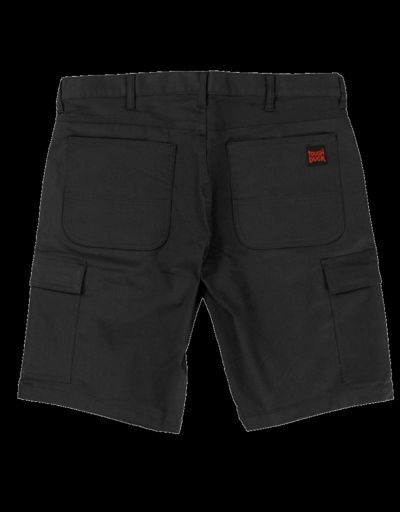 TOUGH-DUCK Tough Duck Stretch Cargo Work Bermuda Shorts Black