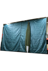 YANES Canvas Tarpaulin Outdoor Shelter 10X12 Polyester YANES
