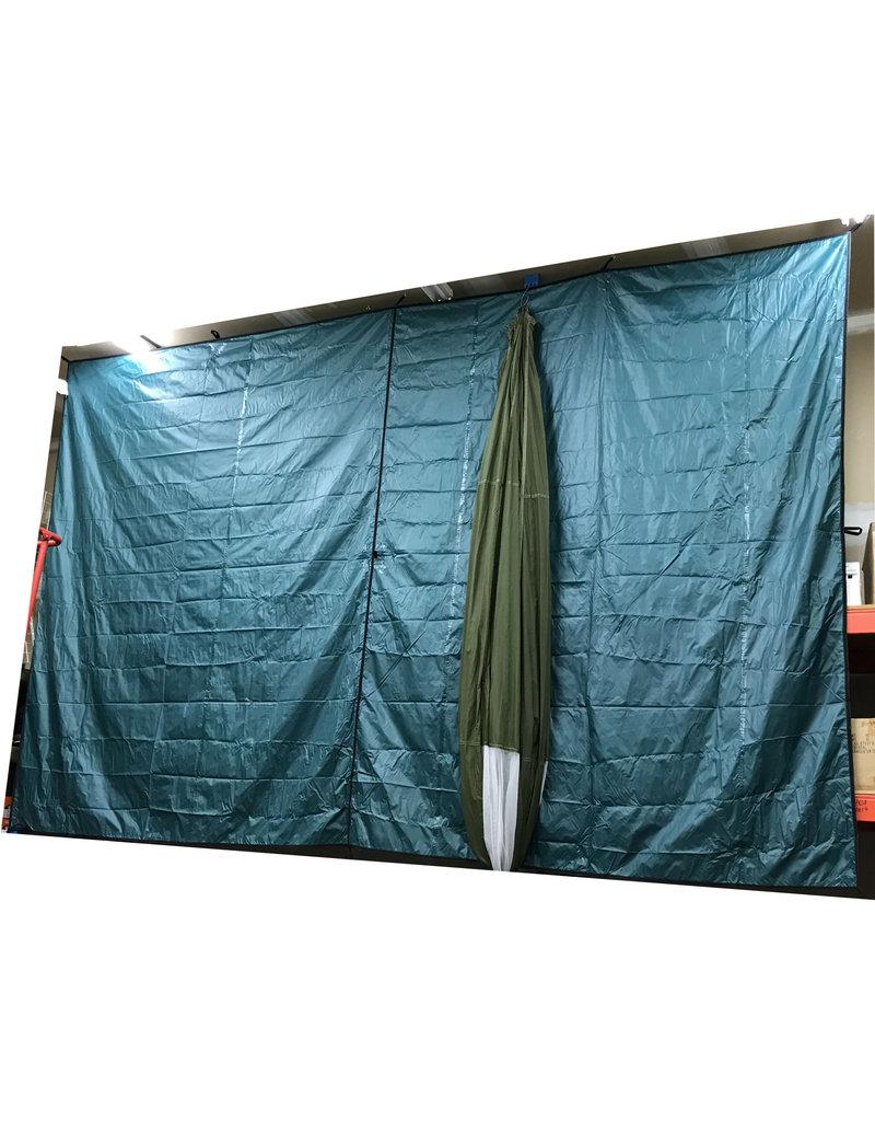 YANES Toile Bâche Abri Plein-Air 10X12 Polyester YANES