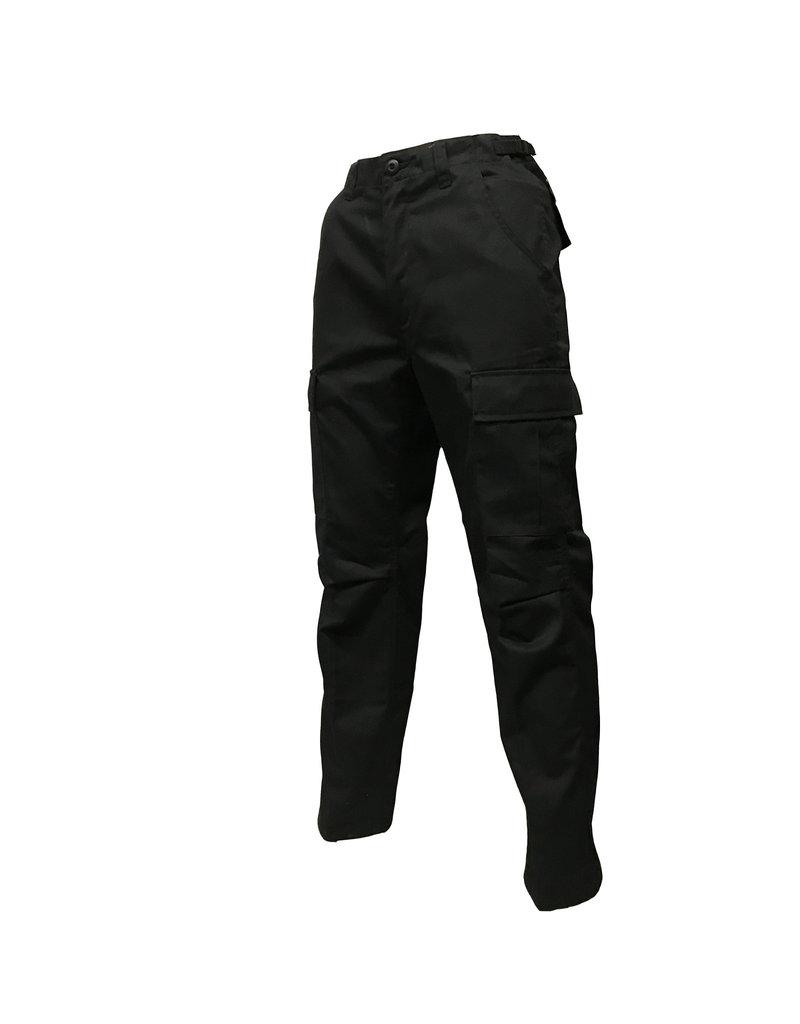 MILCOT Cargo Pants Black Military Style
