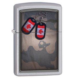 ZIPPO Zippo Medaille Tag Canada Camo
