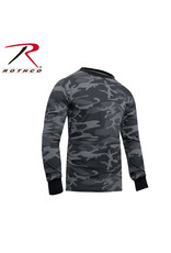 ROTHCO Black Camouflage Long Sleeve Sweater