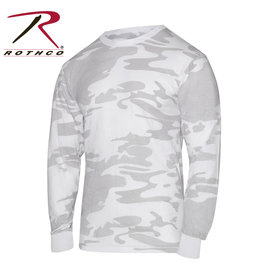 ROTHCO White Camouflage Long Sleeve Sweater
