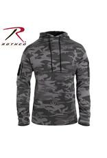 ROTHCO Rothco Black Tactical Camo Kangaroo Sweater