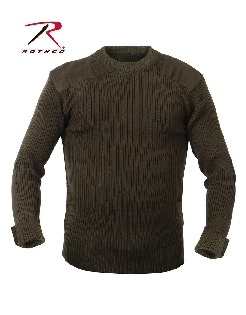 ROTHCO Military Style Commando Acrylic Olive Rothco Sweater
