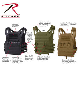 ROTHCO Airsoft Plate Carrier Veste Leger Rothco